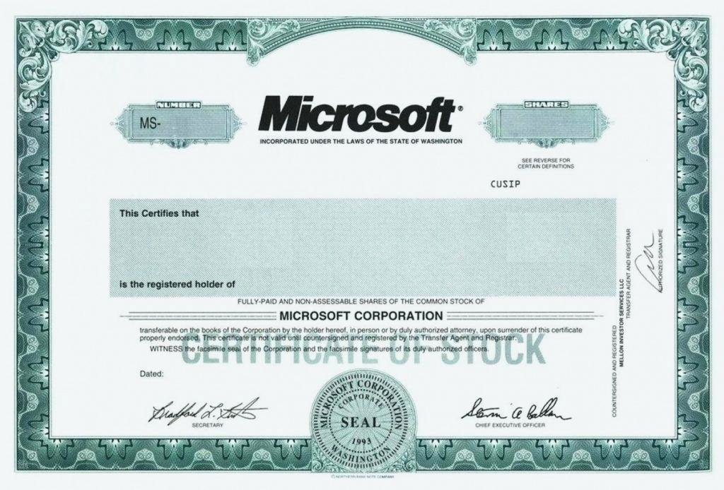 Corporate Stock Certificate Template Awesome Corporate Stock Certificate Template