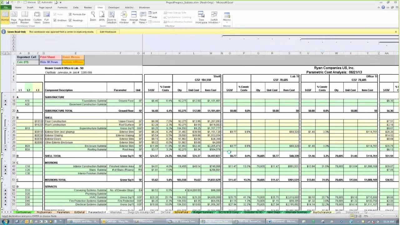 Cost Estimate Template Excel Elegant Construction Estimate form Excel Example Of Spreadshee
