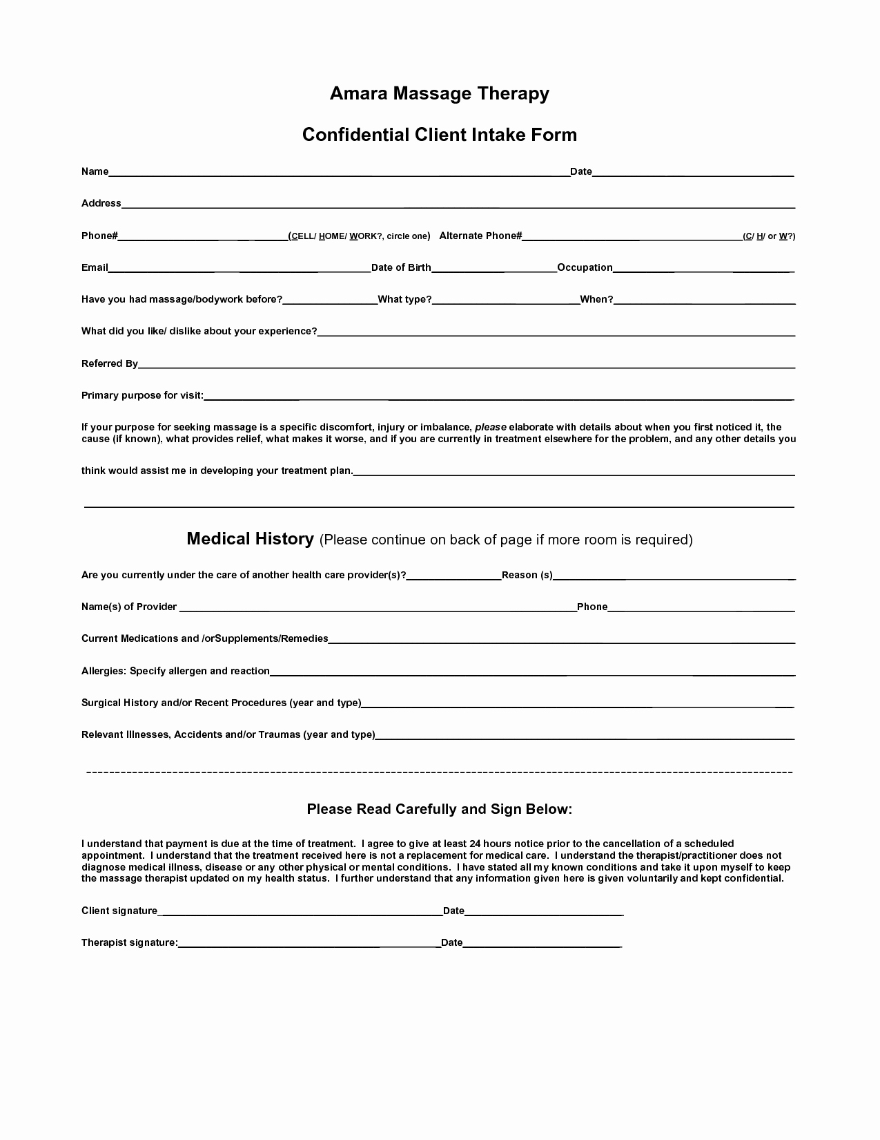 Counseling Intake form Template Best Of Body Intake form Clipart Clipart Suggest