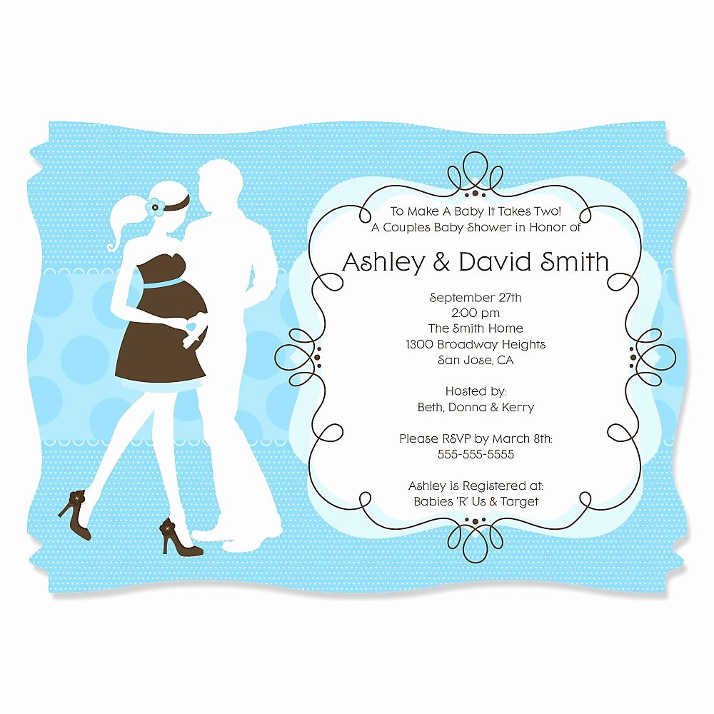 Couples Shower Invitations Template Lovely Invitations Card Couples Wedding Shower Invitation