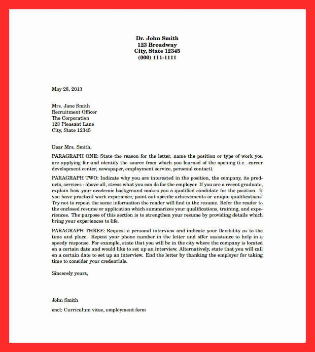 Cover Letter Latex Template Awesome Cover Letter Layout