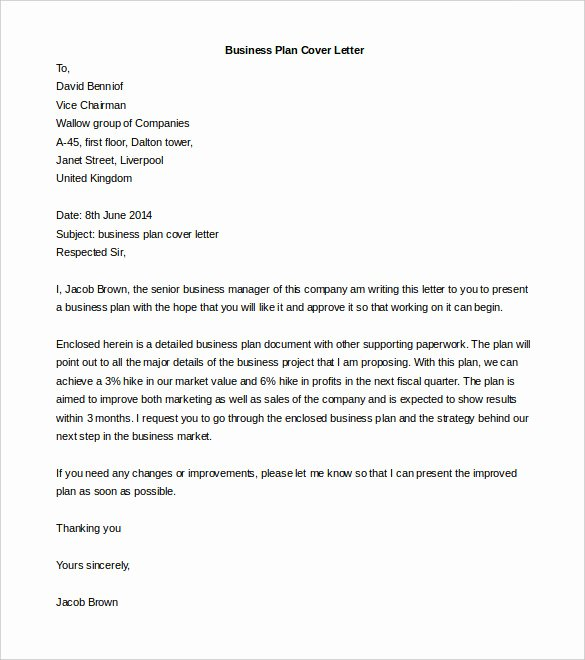 Cover Letter Template Doc Best Of 50 Business Letter Templates Pdf Doc