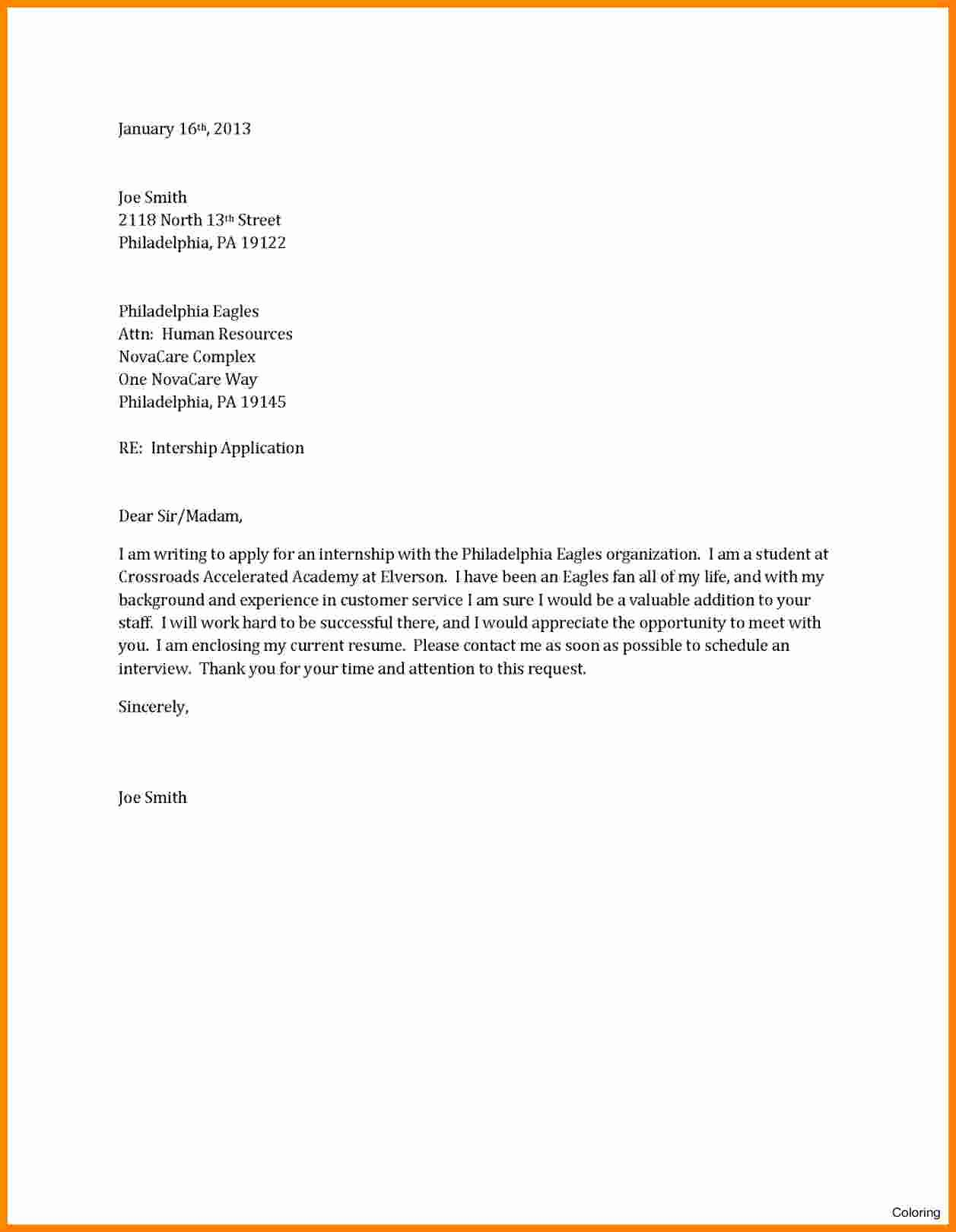 Cover Letter Template Pdf Awesome 12 Cv Letter Sample Pdf