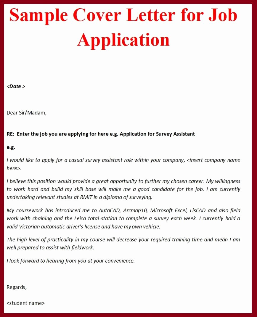 Cover Letter Template Pdf Fresh Writing A Job Cover Letter Sarahepps