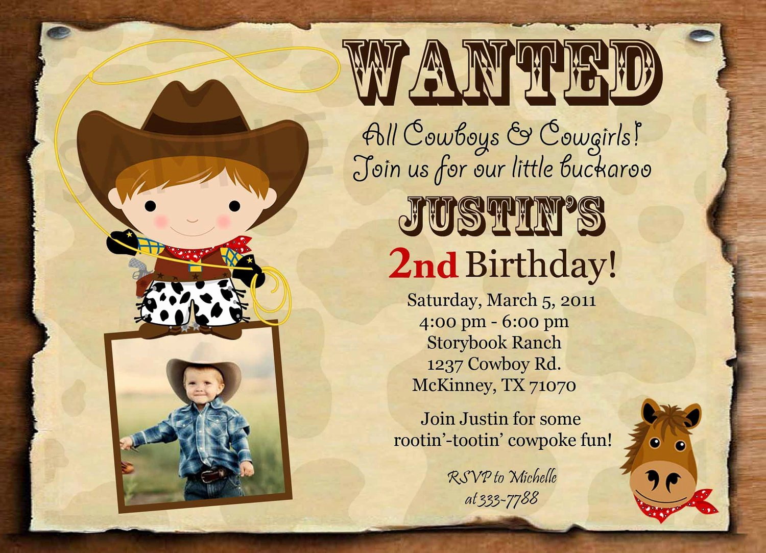 Cowboy Invitations Template Free Fresh Cowboy Invitation Templates