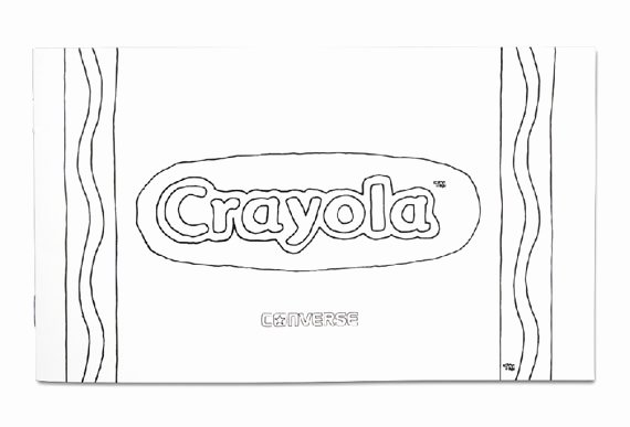 Crayola Crayon Label Template Beautiful Crayola X Converse Chuck Taylor All Star Sneakernews