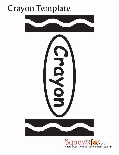 Crayola Crayon Label Template Elegant Crayola Crayon Logo Printable
