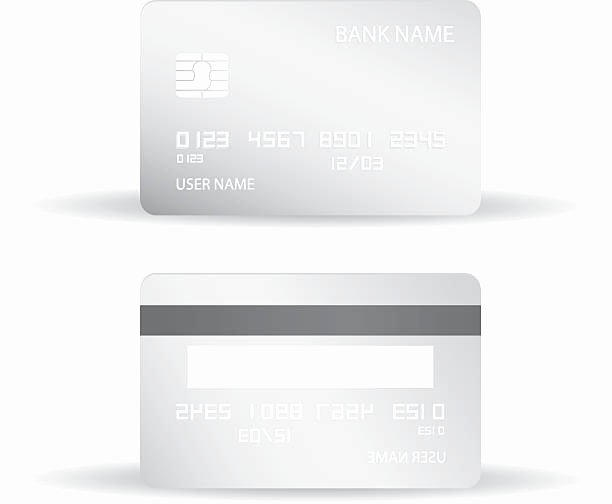 Credit Card Design Template Awesome Royalty Free Blank Credit Card Clip Art Vector