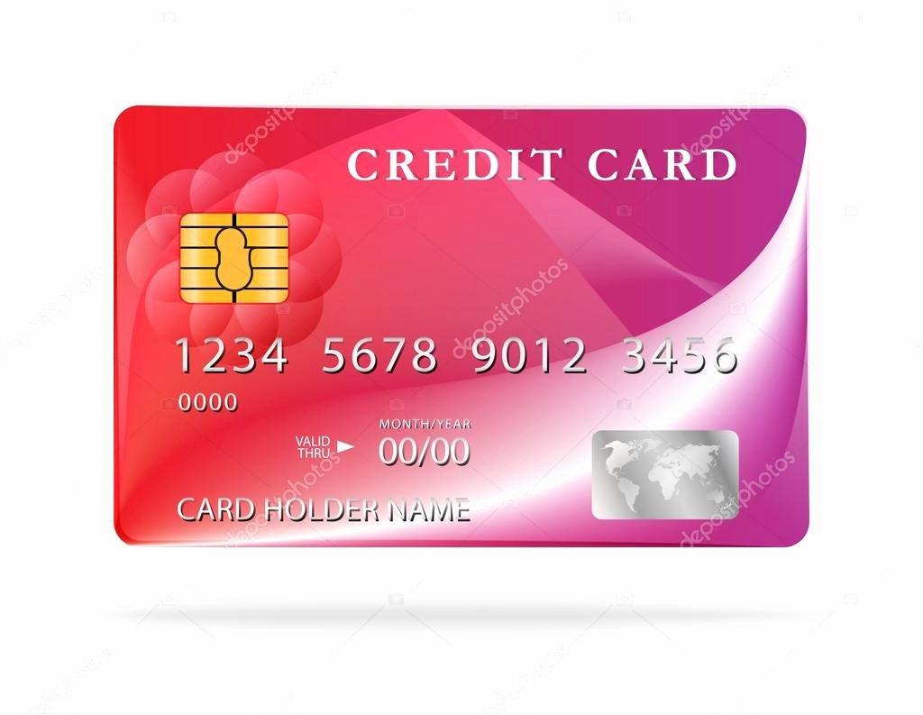 Credit Card Design Template Beautiful Credit Card Design Template — Stock Vector © Gorgrigo