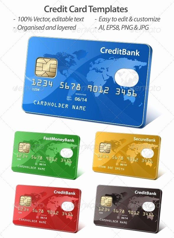 Credit Card Design Template Elegant 40 Realistic Credit Card Mockups Psd Vector