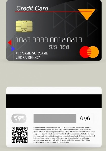 Credit Card Design Template Fresh Credit Card Chip Free Vector 12 785 Free Vector