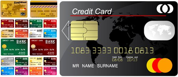 Credit Card Design Template Inspirational Credit Card Design Vector Free Vector 12 460