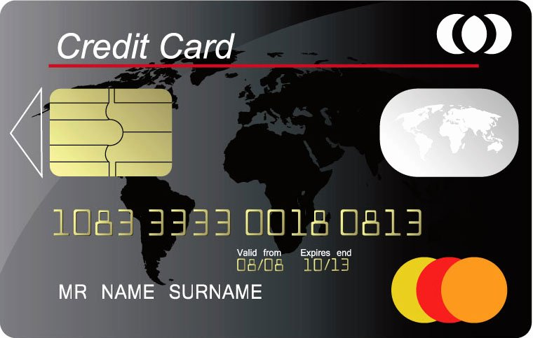 Credit Card Design Template Lovely Credit Card Vector Templates