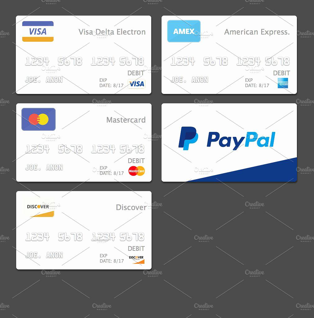 Credit Card Design Template Luxury 10 Credit Card Designs