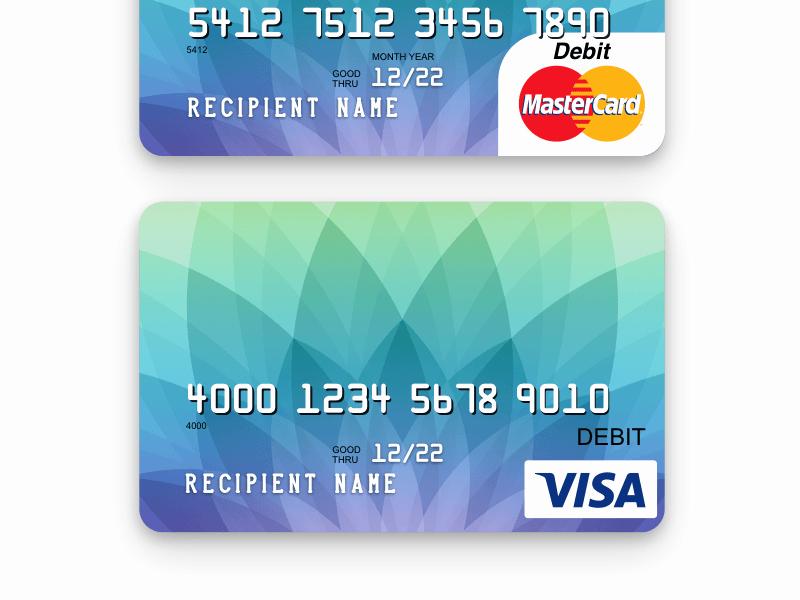 Credit Card Design Template Luxury Credit Card Template …