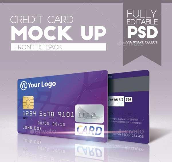 Credit Card Design Template Unique 44 Best Free Credit Card Mockup Psd Templates