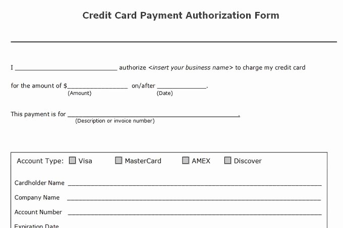 Credit Card Payment Template Awesome Accounts Receivable Controls Vitalics
