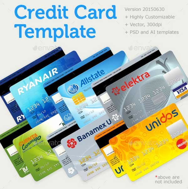 Credit Card Photoshop Template Inspirational 44 Best Free Credit Card Mockup Psd Templates