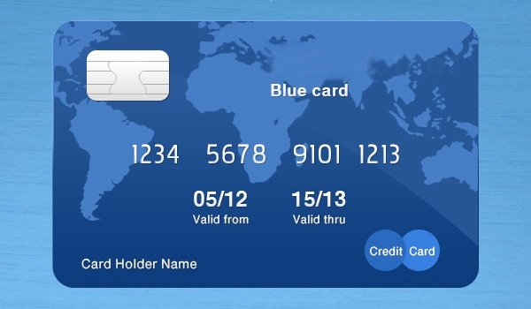 Credit Card Photoshop Template Unique 12 Free Psd Credit Card Mockups