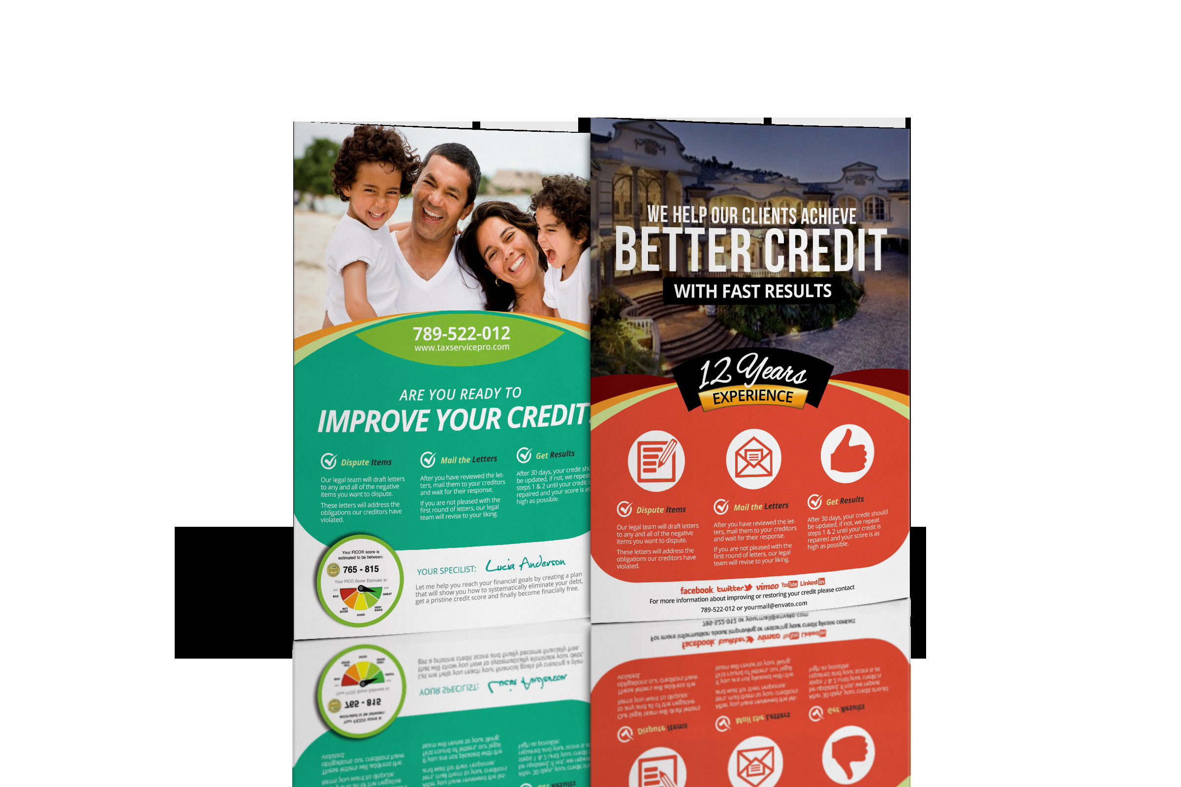 Credit Repair Flyer Template Fresh Credit Repair Flyers Baskanai