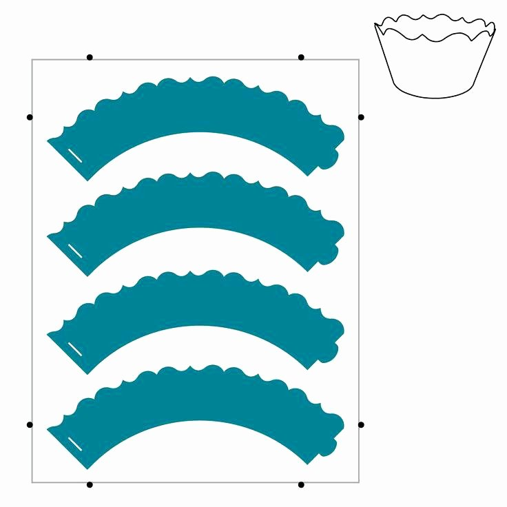 Cupcake Wrapper Template Pdf Elegant Free Cupcake Wrapper Template – Flybymedia