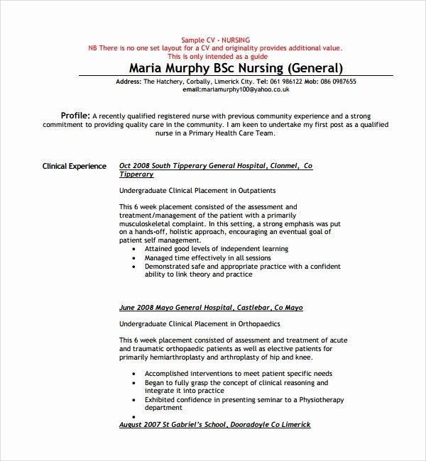 Curriculum Vitae Nursing Template Unique College Essays Tips and Sample Questions Campus