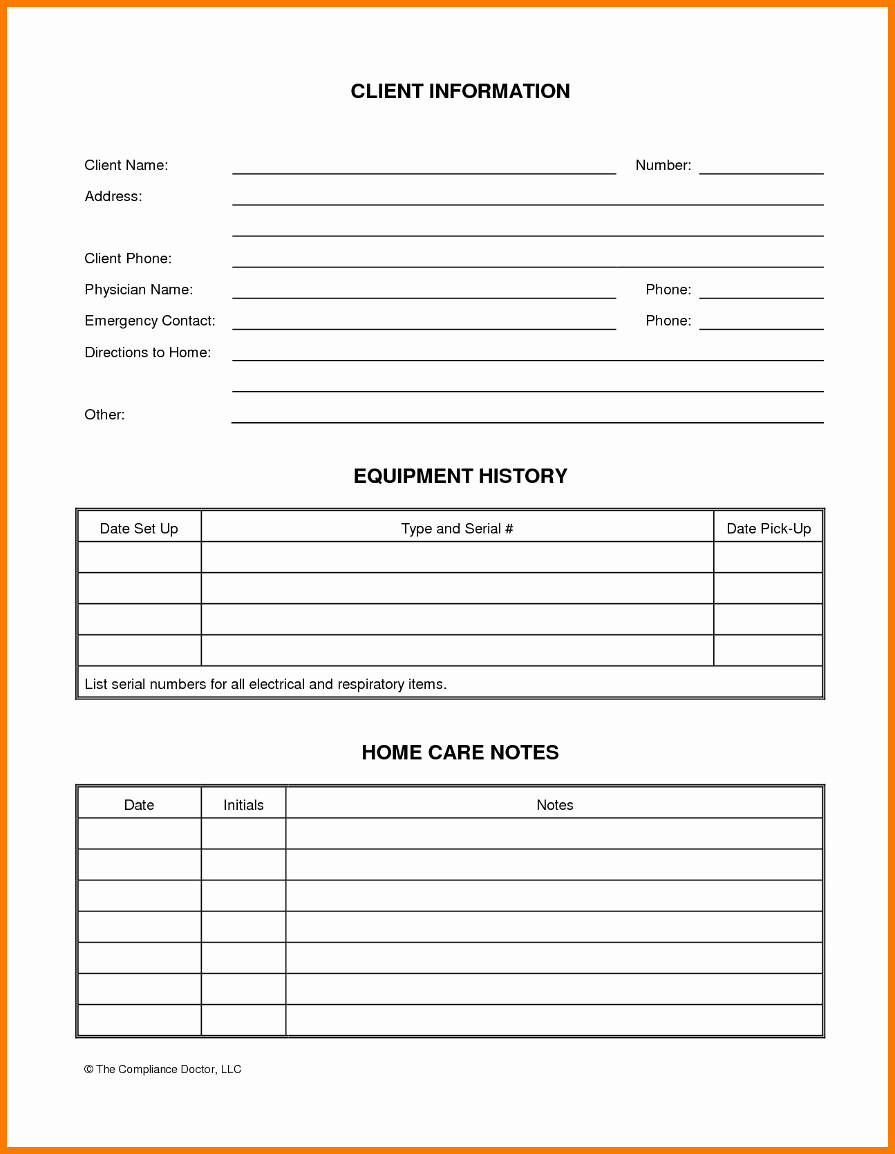 Customer Information form Template Inspirational Customer Information form Template