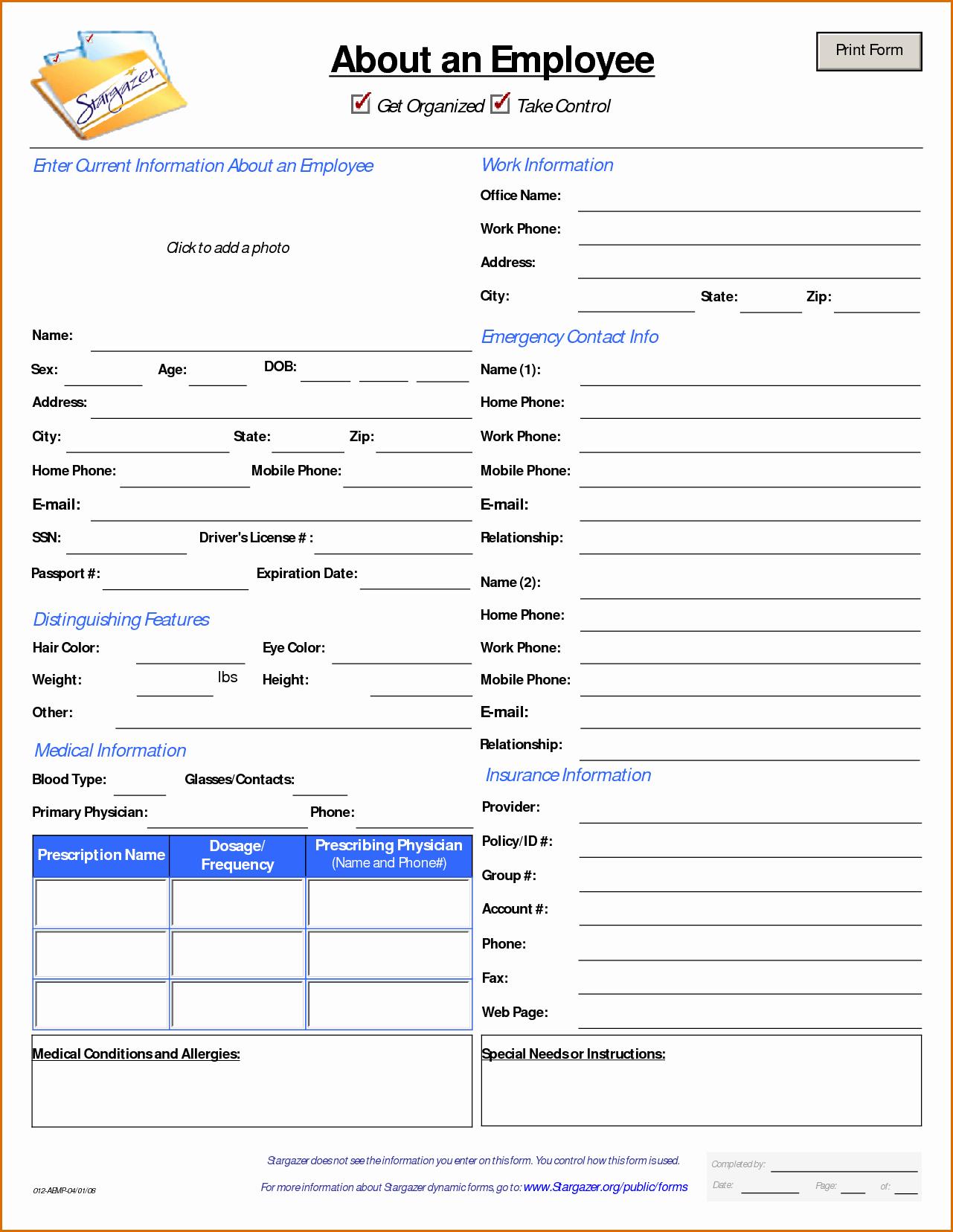 Customer Information form Template Luxury 13 Customer Information form Template