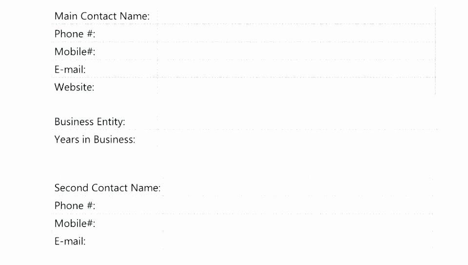 Customer Profile Template Excel Unique Sales Account Profile Template Customer Profile Template
