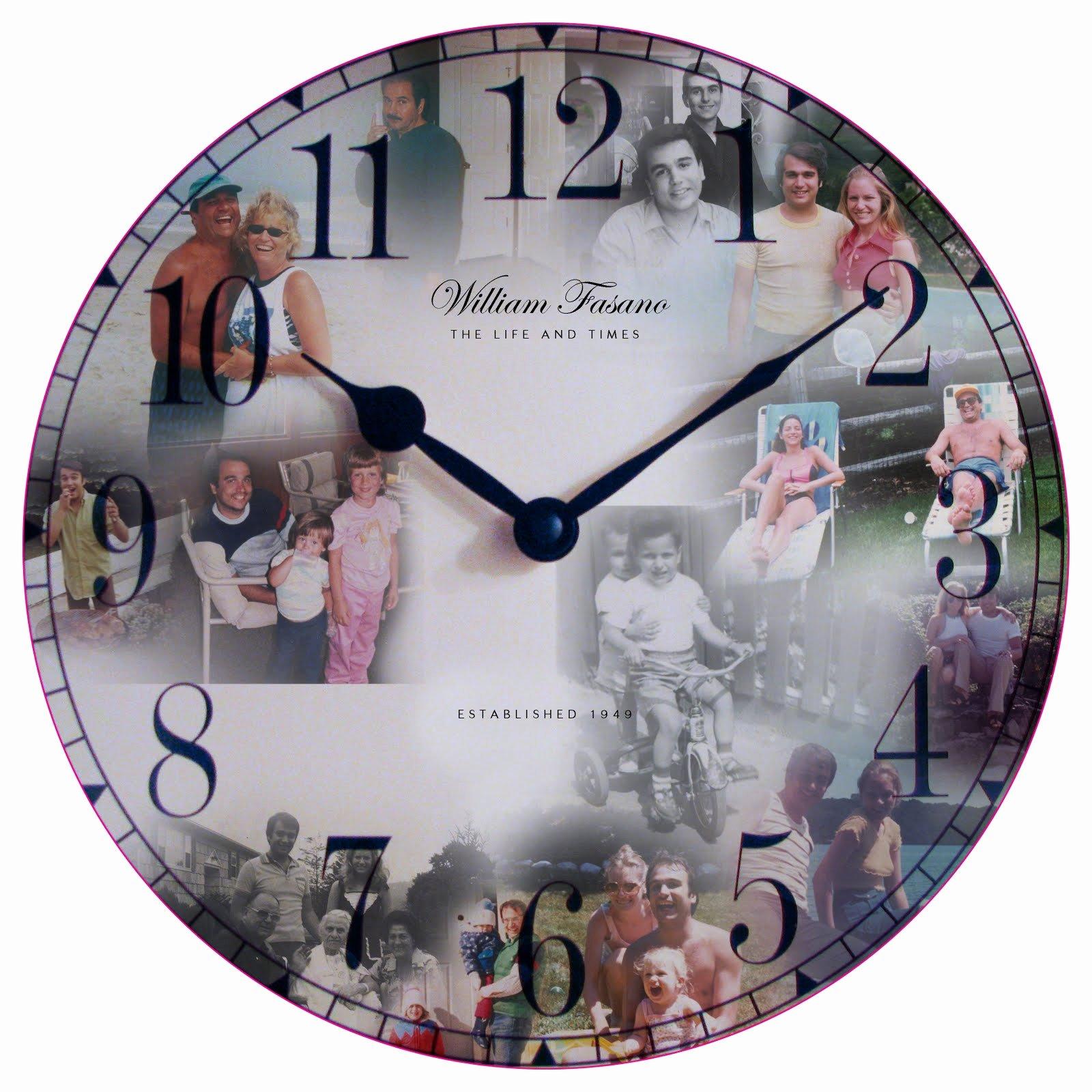 Customizable Clock Face Template Elegant Kat and Mouse Design Custom Clock Face Design