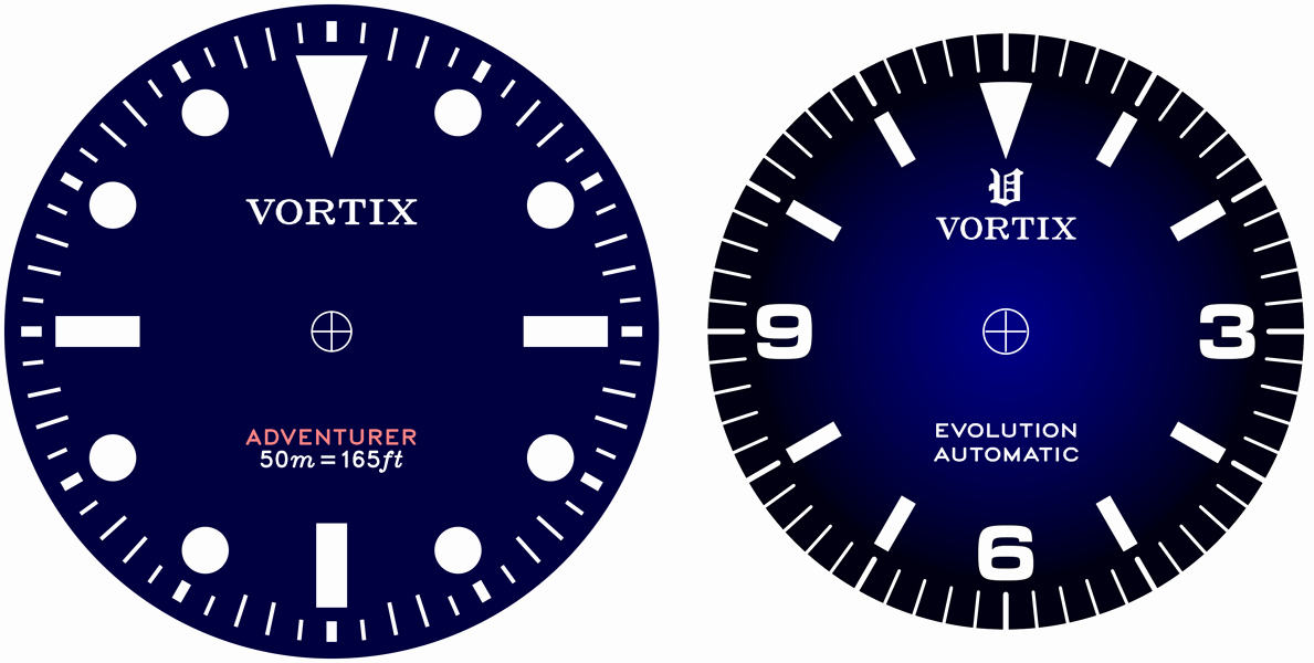 Customizable Clock Face Template Elegant Making Custom Watch Dials