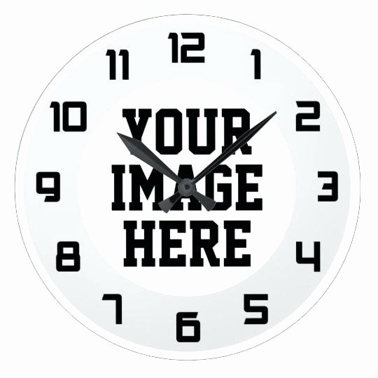 Customizable Clock Face Template Fresh Design Your Own Clock Create Your Own Clock Best Clock