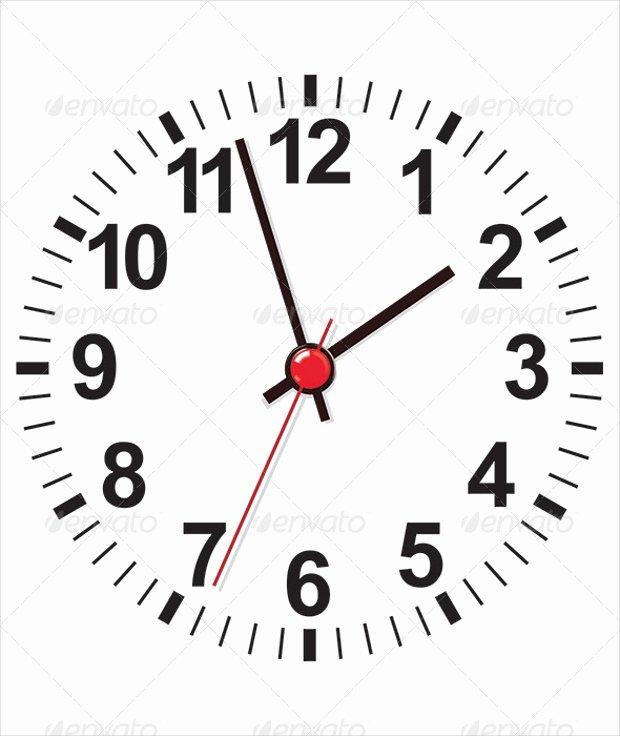 Customizable Clock Face Template Inspirational 20 Clock Vectors Eps Png Jpg Svg format Download