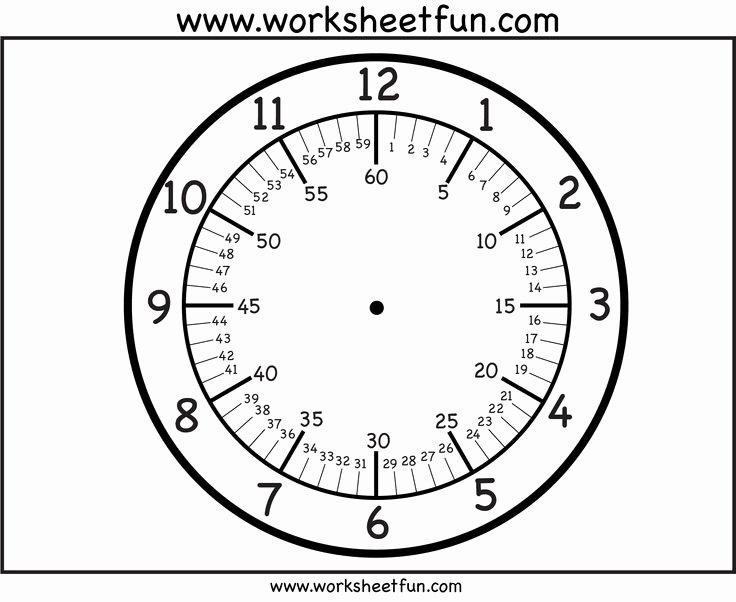 Customizable Clock Face Template Luxury Pretty Clock Face Template Vintage Clock Face