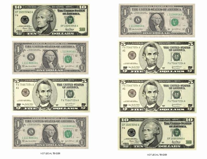 Customizable Fake Money Template Awesome Play Money Template