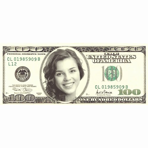 Customizable Fake Money Template Fresh Make Fake Personalized 100 Dollar Bill with Your Face Online