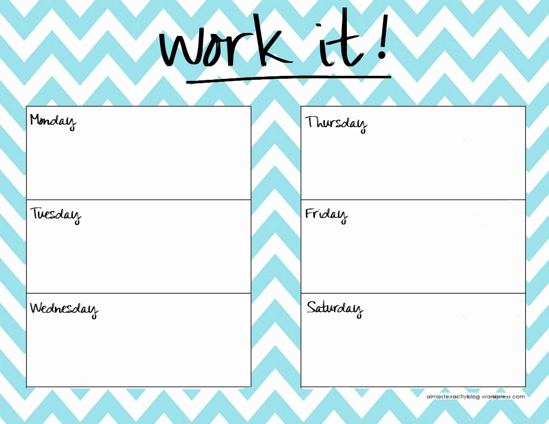 Cute Class Schedule Template Best Of 29 Of Cute Printable Daily Schedule Template