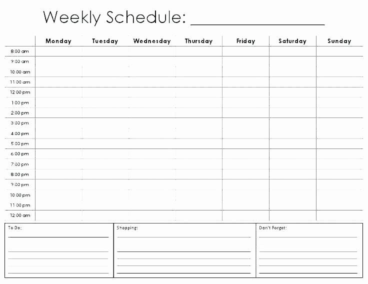 Cute Class Schedule Template Fresh Cute Agenda Template – Miyamufo