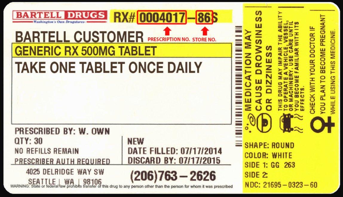 Cvs Prescription Label Template Beautiful 15 Great Prescription Bottle