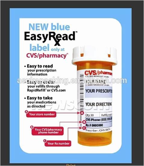 Cvs Prescription Label Template Best Of Cvs Prescription Label Related Keywords Cvs Prescription