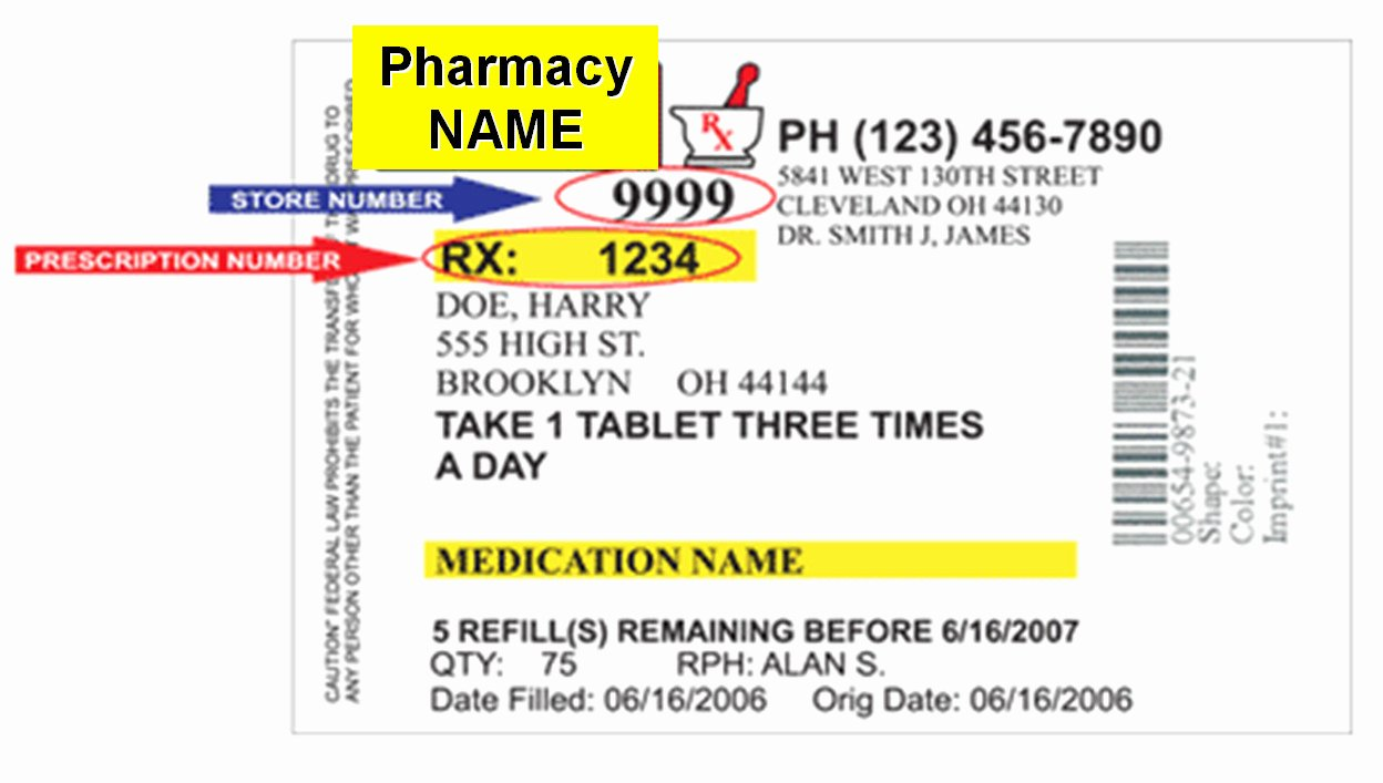Cvs Prescription Label Template New 96 Fake Prescription Bottle Label Template Medical Pill