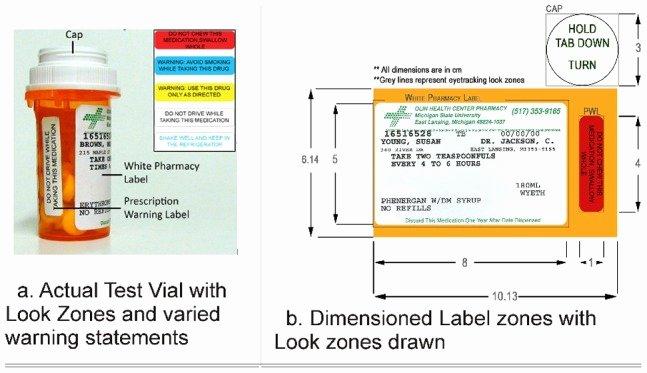 Cvs Prescription Label Template Unique 1 Cap 2 Standard White Pharmacy Label and 3