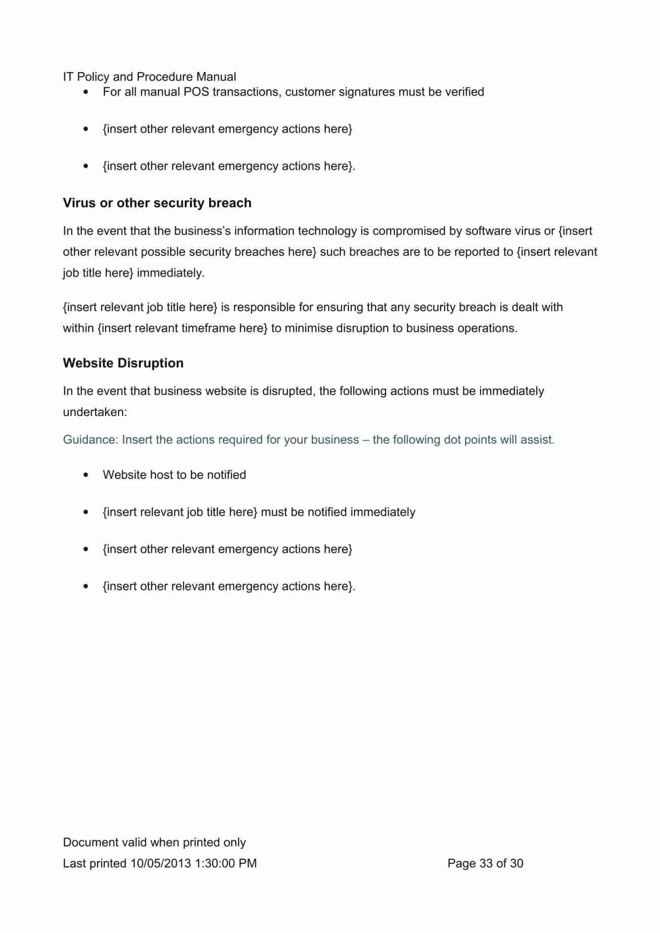 Cyber Security Policy Template Awesome Fresh Nist Cyber Security Policy Template