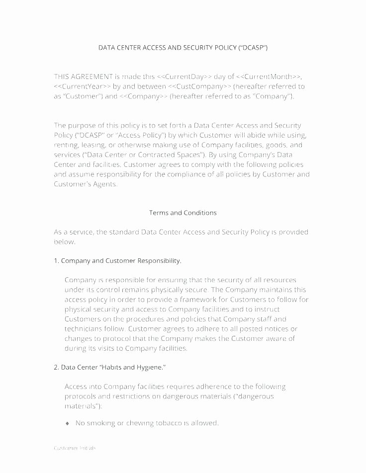 Cyber Security Policy Template Fresh Pany Cyber Security Policy Template