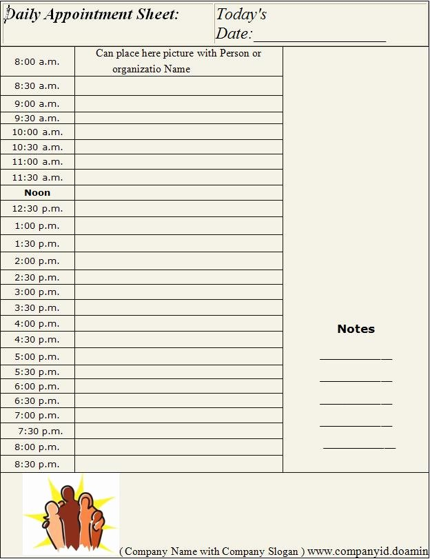 Daily Appointment Schedule Template Luxury Blog Archives Filecloudgw