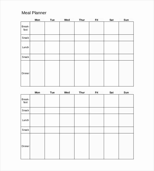 Daily Meal Plan Template Beautiful 29 Daily Planner Templates Pdf Doc