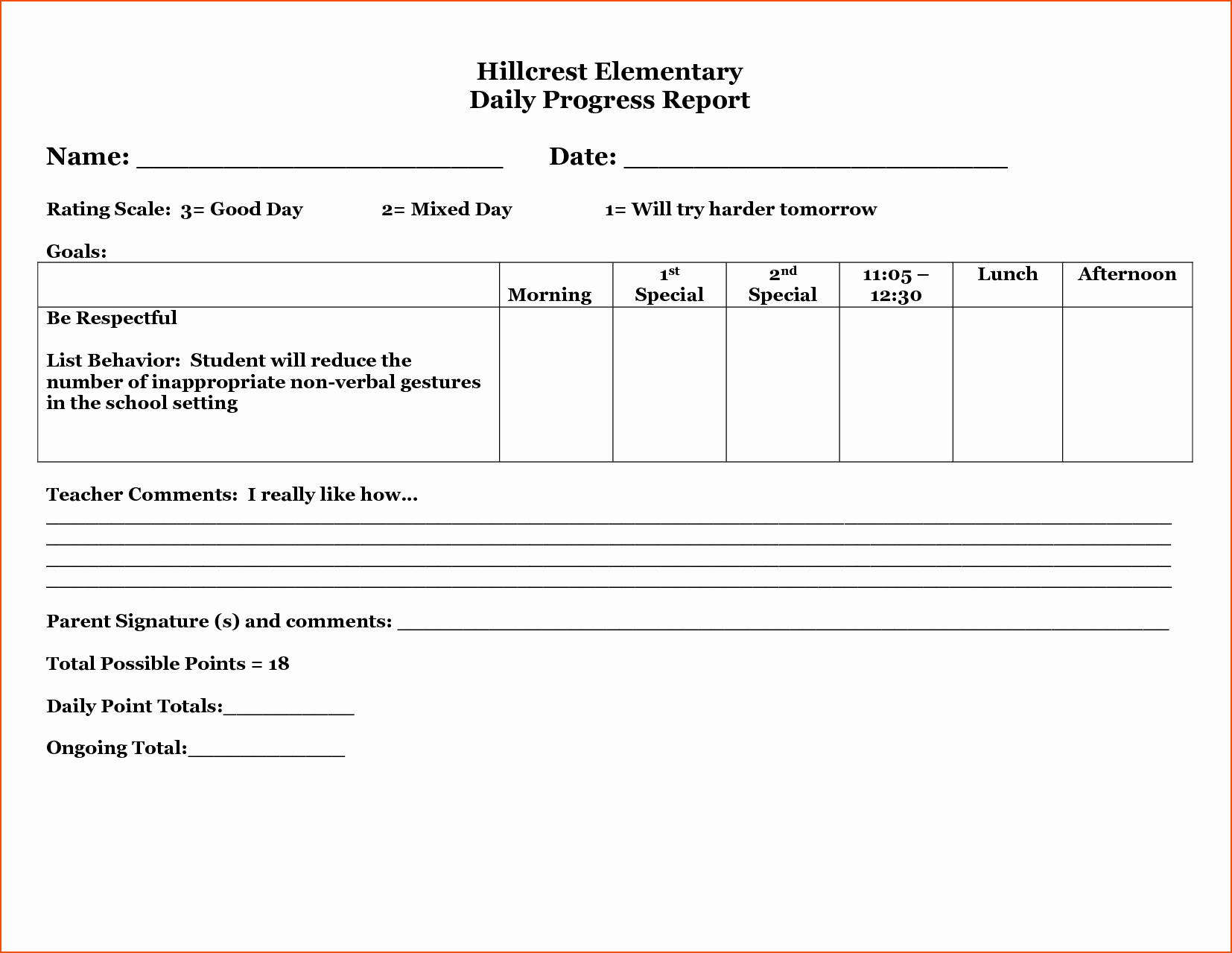 Daily Progress Report Template Best Of 3 Daily Progress Report Template Bookletemplate