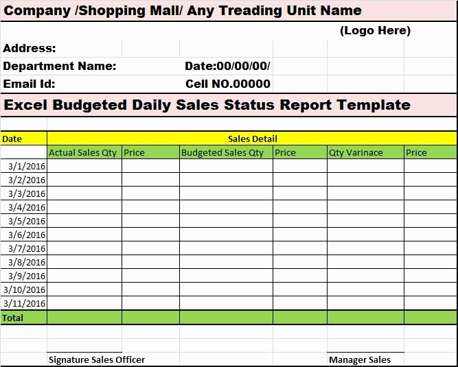 Daily Sales Report Template New 10 Best Images About My Reports Writing Designs On