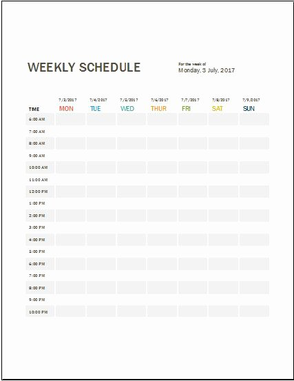 Daily Work Log Template New Daily Work Log Templates for Ms Word & Excel