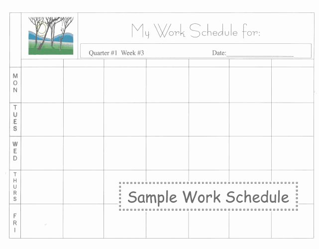 Daily Work Schedule Template Lovely 5 Daily Work Schedule Templates Excel Excel Xlts